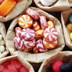 Леденцы, драже и конфеты