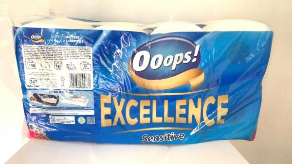 Туалетная бумага Сенситив / Ooops! Excellence Sensitive