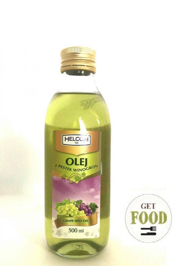 Масло из виноградной косточки Хелком 500г / Olej z pestek winogron